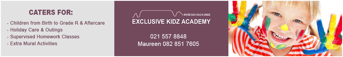 Exclusive Kidz Academy Front Page Ad