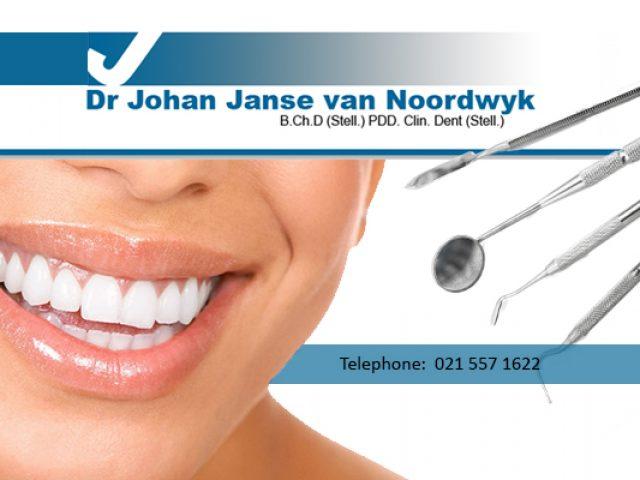 Dentist / Tandarts Dr J. Janse van Noordwyk